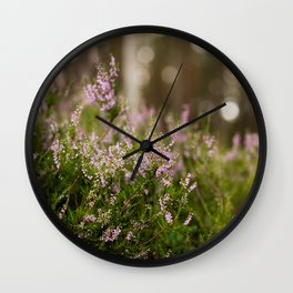 Heather Weather Wall Clock