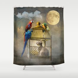 Free for now Shower Curtain