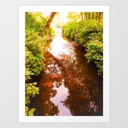 Eagle Creek II Art Print