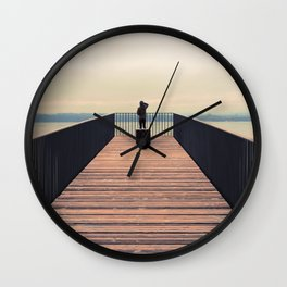 Lake of Neufchâtel SWITZERLAND Europe Wall Clock