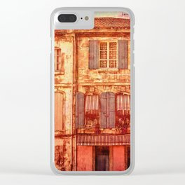 The Old Neighborhood, Rustic Buildings Clear iPhone Case