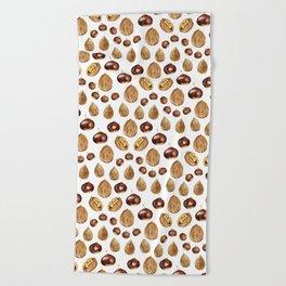 Nuts Beach Towel