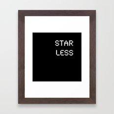 Starless (BLCK #9) Framed Art Print