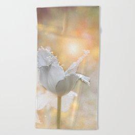 Virgin Tulip and the Dance of the Fairies Beach Towel
