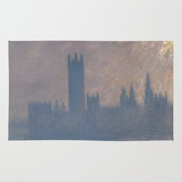 Houses of Parliament, Sunlight Effect Rug
