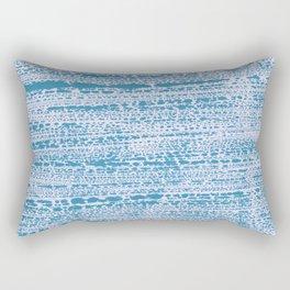 Blue Water Aqua Splash Beading Bouy Rectangular Pillow