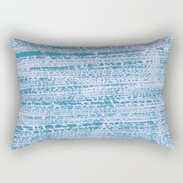Blue Water Aqua Splash Beading Bouy Rectangular Pillow