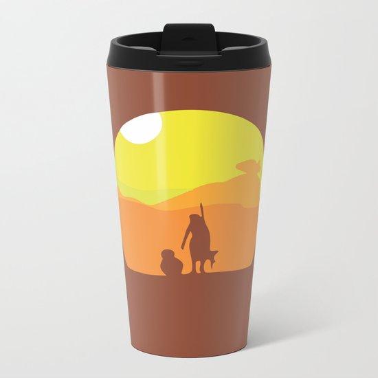 Star, BB8, Wars... Force Metal Travel Mug