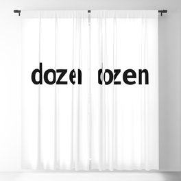 dozen Blackout Curtain