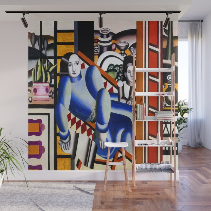 Fernand Leger Mother And Child Wall Mural