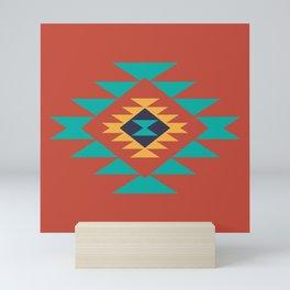 Southwest Indian Tribal Abstract Pattern Mini Art Print