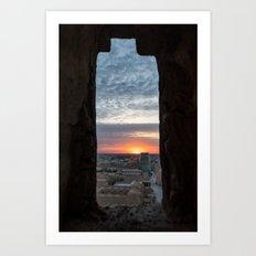 Khiva Sunset Art Print