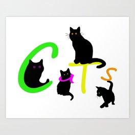 Cats #1 Art Print