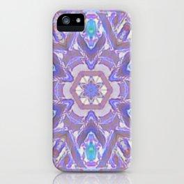 Mandala - Purple Fantasy iPhone Case