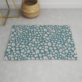Lil Babe Flowers Rug
