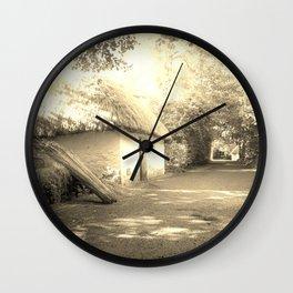 Memory Lane Wall Clock