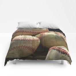 Baseballs and Glove Comforters