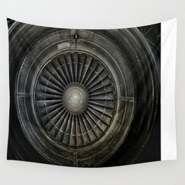 The Plane Engine Wall Tapestry