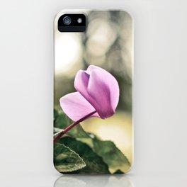 Ciclamino iPhone Case
