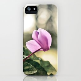 Ciclamino iPhone Case