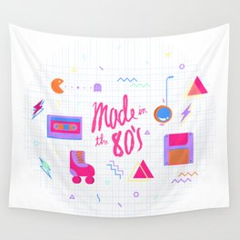 Made in the 80's Wall Tapestry