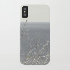 Branches at the sea iPhone X Slim Case