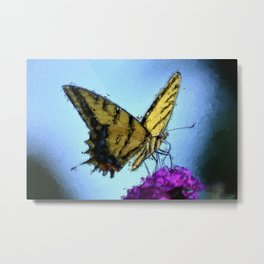 Butterfly (Synhetextureus) Metal Print