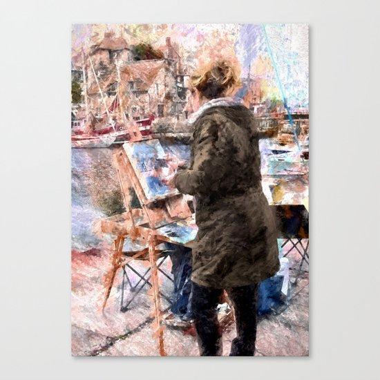 Artist Canvas Print