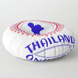 Thailand Is My Favorite Country Floor Pillow