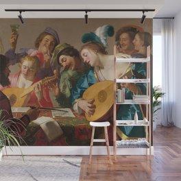 Gerard van Honthorst - The Concert Wall Mural