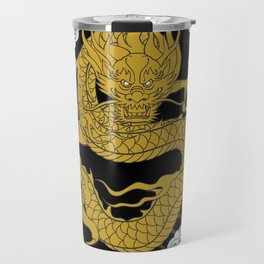Traditional Gold Dragon Travel Mug