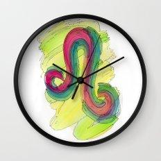 Leo Flow Wall Clock