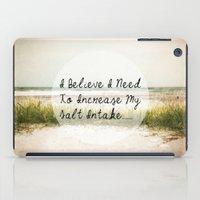 salt water iPad Cases featuring Salt by Terri Ellis