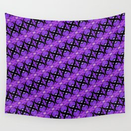 Blue eternity gone purple Wall Tapestry