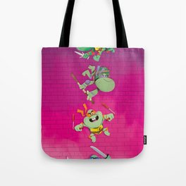 Young mutant ninja turtles Tote Bag