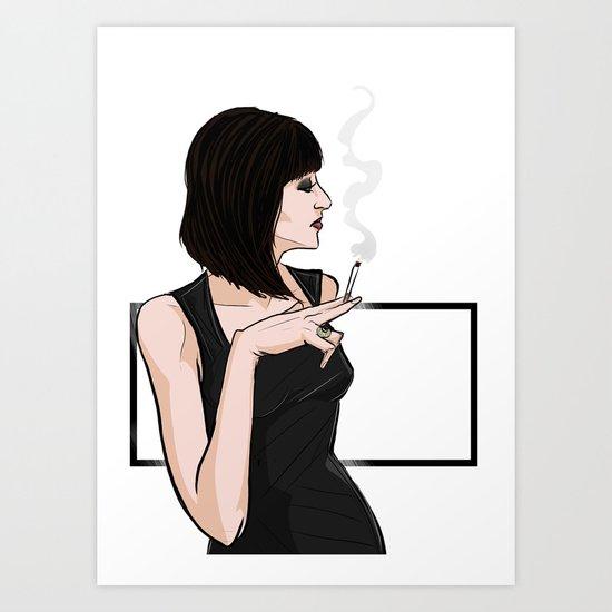Sadie Anderson Art Print