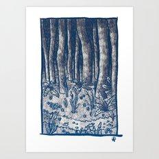 Oregon Forest Art Print