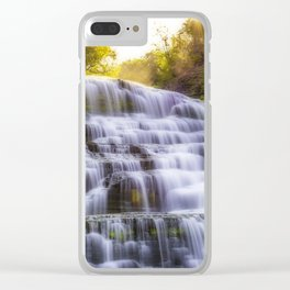 Tranquil World Clear iPhone Case