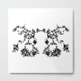 Rorschach inkblot #2 Metal Print
