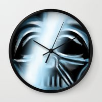 returns Wall Clocks featuring Anakin Returns by TLCreations