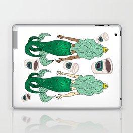 Star Butts Mermaids Coffee Laptop & iPad Skin