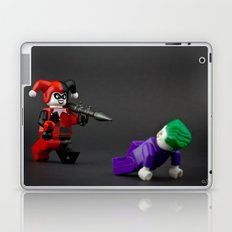 Harley is pure trouble Laptop & iPad Skin
