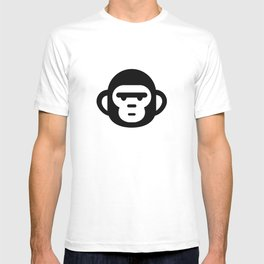 The grumpiest monkey. T-shirt