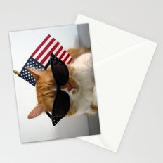 PAWSitively Patriotic Stationery Cards