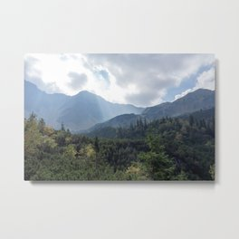 Hikers Paradise Metal Print