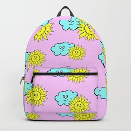 Cute baby design in pink Backpack