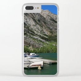 Waterton Lakes Clear iPhone Case