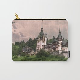 Peles Castle Romania Carry-All Pouch