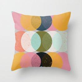 Moods & Moons Throw Pillow