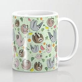 Sloth Party Coffee Mug